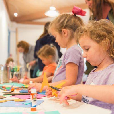 craft making kids